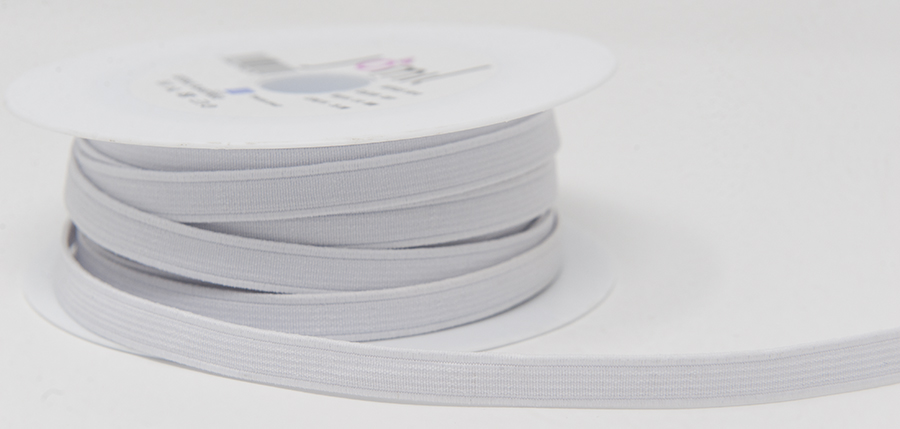 10mm Elastic White Needlecraft